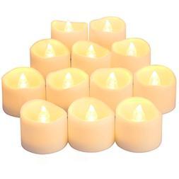 ORIA Flameless Candles, Led Candle Lights, Tea Lights, Reali