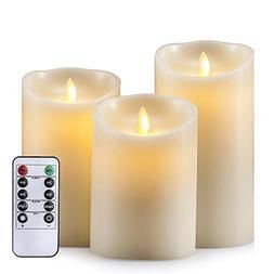 Air Zuker Flameless Candles Super-Long Battery Life Dancing