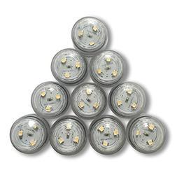 Qicai H Flameless LED Tea Light, Battery Powered, LED Lights