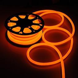 50ft 110V Flex LED Neon Rope Light Indoor Outdoor Holiday Va