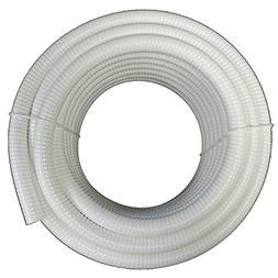 - HydroMaxx® White Flexible PVC Pipe, Hose, Tubing for Poo