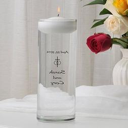 Personalized Floating Wedding Unity Candle- Classic