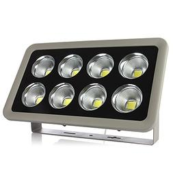 Morsen 400W LED Outdoor Flood Light Cool White COB Chip Wate