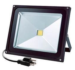 Wosen 50W LED Flood Light, Waterproof IP65, 4000lm, 5000K Da