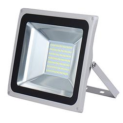 100W LED Floodlight,Low-energy Cool White Spotlight,IP65 Wat