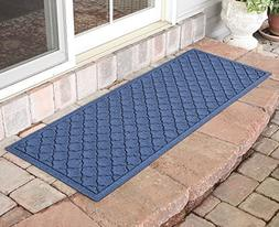 Bungalow Flooring Aqua Shield Cordova Runner, Navy