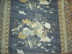 Floral Marsh decorator fabric Eastern Opulance England 1 yar