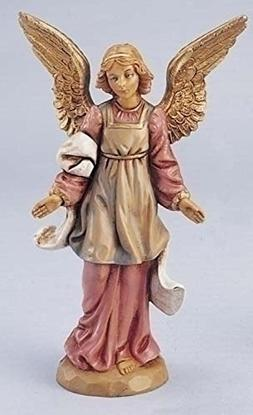 "Fontanini 5"" Standing Angel Christmas Nativity Figurine #725"