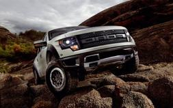 Ford F 150 Svt Raptor 2013 8X10 Photo Poster Banner