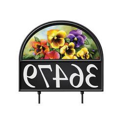 Collections Etc Four Seasons Address Marker Garden Decor Yar