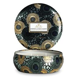 Voluspa French Cade & Lavender Limited JAPONICA 3 Wick Candl