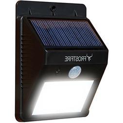 Frostfire Bright LED Wireless Solar Powered Motion Sensor Li
