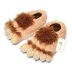 Ibeauti Furry Monster Adventure Slippers, Comfortable Novelt