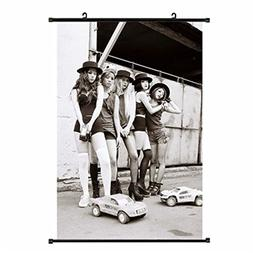 Fanstown fx red light kpop accessories wall scroll poster