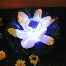 Garden Decor LED Light Solar Changing Color Pool Yard Pond F