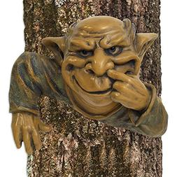 Bits and Pieces - Garden Décor - Nose Picking Elf Tree Hugg