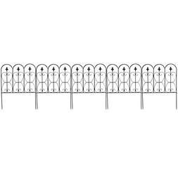 Giantex Garden Fence 32in x 10FT Folding Decorative Border F