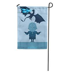 Semtomn Garden Flag Game King of The Night and Dragon Blue F
