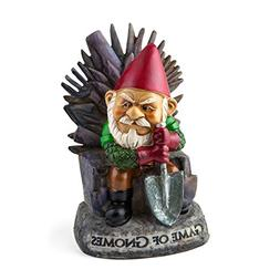 Big Mouth Inc. Game of Gnomes Garden Gnome – Comical Garde