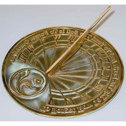 Gardeners' Reflection Sundial with Motto
