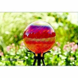 gazing ball hand blown glass outdoor garden