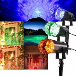 Gemmy DJ LightShow Swirling Multicolor LED Kaleidoscope Spot