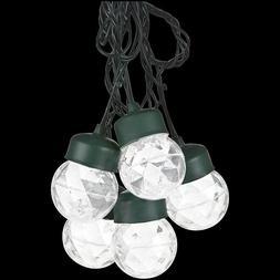 Gemmy LED LightShow Projection Light String Set of 8, White