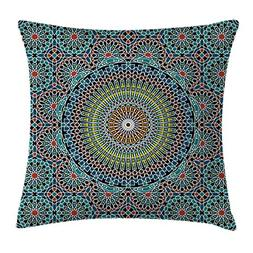 Ambesonne Geometric Decor Throw Pillow Cushion Cover by, Tra