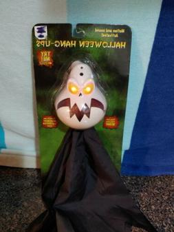 Gemmy Ghost  Halloween Hang Up Motion Sound Talking Eyes Lig