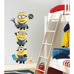 New Giant DESPICABLE ME 2 MINIONS WALL DECALS Kids Room Stic
