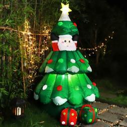 VIVOHOME Giant Inflatable LED Christmas Tree w/ Auto Up & Do