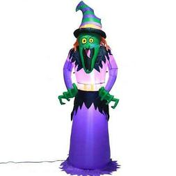 Giant Witch Halloween LED Inflatable Outdoor Yard Decoration