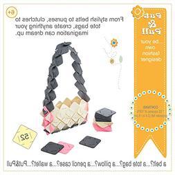 Put&Pull Girls Crafts Kit - Felt Squares Building Toy
