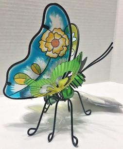 Essential Garden Glass & Metal Butterfly, Lawn,Tabletop, Yar