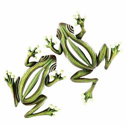 Collections Etc Glow In The Dark Hanging Frogs Wall Fence Tr