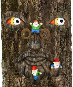 Gnome Tree Faces Outdoor For Garden Yard Tree Decorations Ou