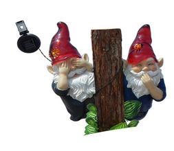 Gnomes No Speak, No See, String Solar Light
