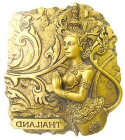 GOLD-LOOK FINISHING KINAREE Bangkok Thailand Souvenir 3d Hig