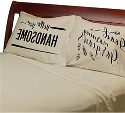 Good Morning Gorgeous Hello There Handsome Pillowcases  Set