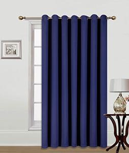 GorgeousHomeLinen  1 PC Navy Blue Extra Wide Room Divider So