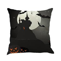 Gotd Vintage Pumpkin Halloween Decorations Throw Pillow Cove