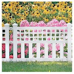 "Suncast Grand View Fence 20.5 "" H X 24 "" W X 1.5 "" D Sturdy"