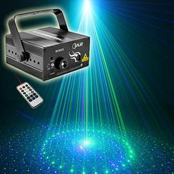 SUNY Green Blue Laser 9 Gobos Effect Blue LED Professional S