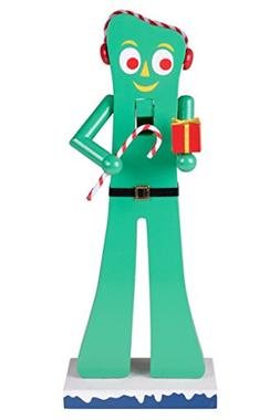 Gumby Wooden Christmas Nutcracker by Clever Creations | Offi