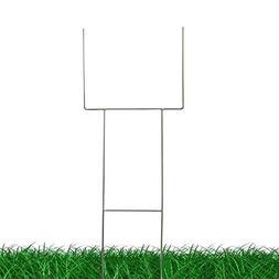 "MTB H Frame Wire Stake 30""x10""  9ga Metal -Yard Sign Stake f"