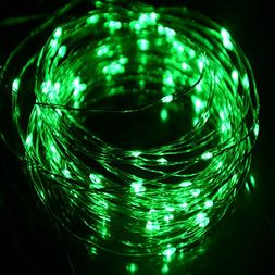 HAHOME Waterproof Led String Lights,33Ft 100 LEDs Indoor and