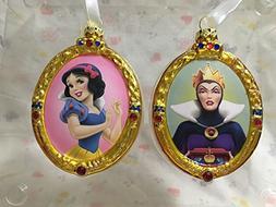 Hallmark Snow White & The Evil Queen Blown Glass Christmas T