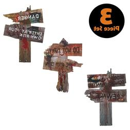 Halloween Decorations Yard Signs Stakes Props Outdoor Decor