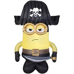HALLOWEEN INFLATABLE 9 MINION PIRATE GEMMY OUTDOOR YARD PROP