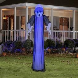 Gemmy Halloween Lighted Ghost Airblown Inflatable 8 Ft Yard